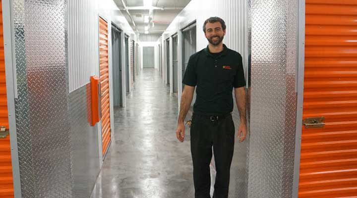karl gill is manager of the largest public storage in the country