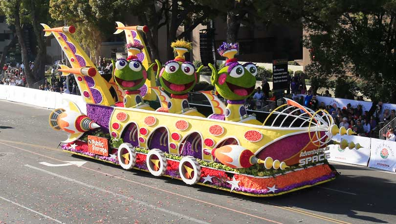 2014 public storage float in the rose parade