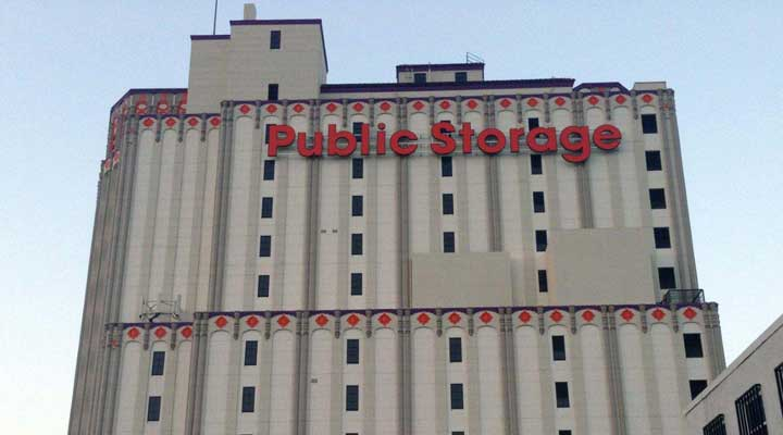 Public Storage 3636 Beverly Boulevard Los Angeles after remodel