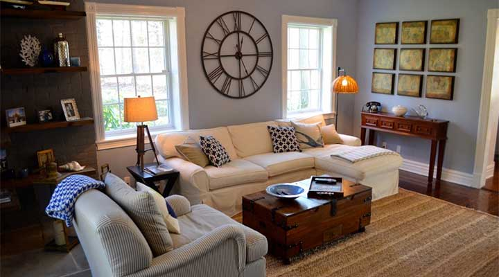 clutter free living room from dalehead designs
