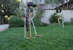 halloween skeleton lawn ornaments 145x100