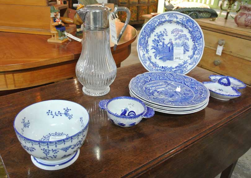 vintage fine china is common at estate sales