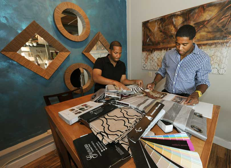 owners of miller bynum design firm at work