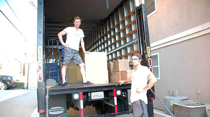 moving truck packing tips