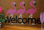welcome mat housewarming party gift 145x100