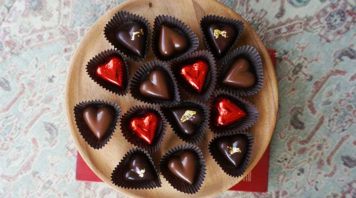 how to store chocolate from valentines day