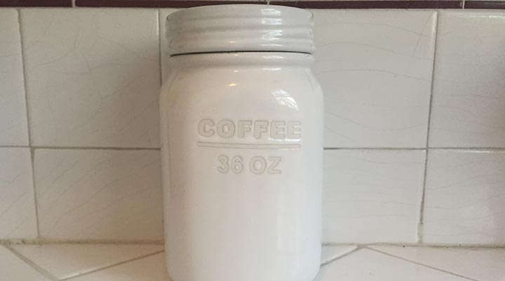 coffee storage container