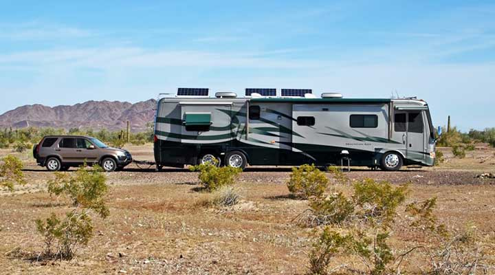 Tips for Storing your RV