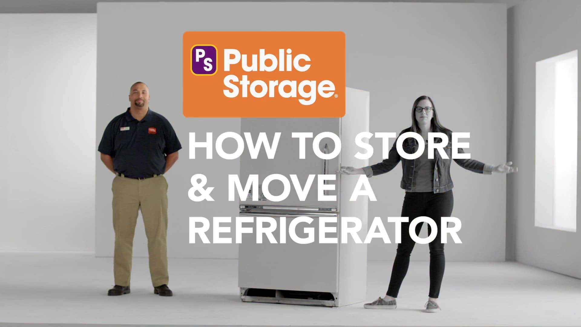 how to store a refrigerator tips 1