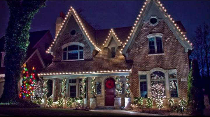Christmas Light Installation in Raleigh NC