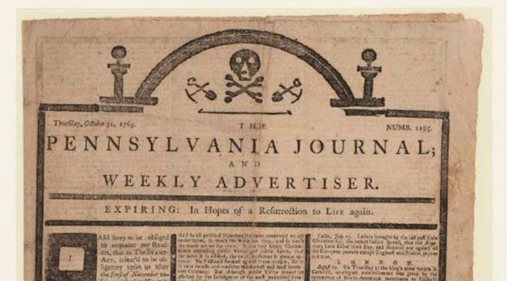 photo of pennsylvania journal newspaper