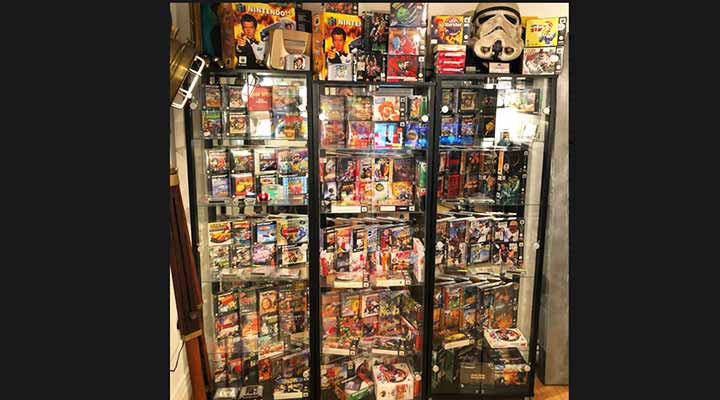 massive collection of video games
