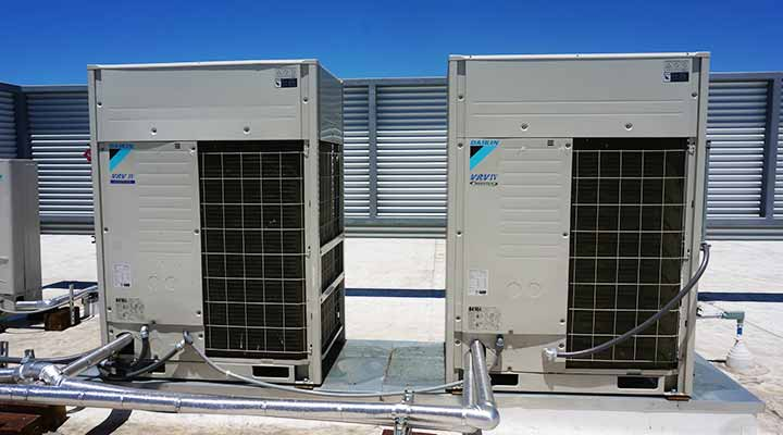 public storage environment vrf air conditioning system