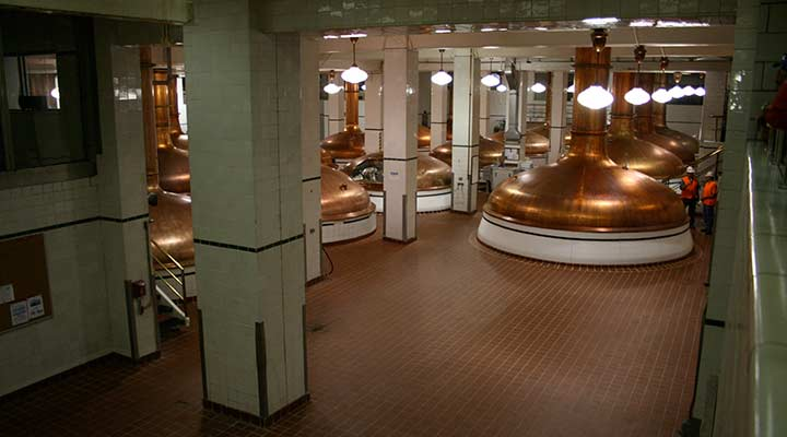 denver coors brewery interior