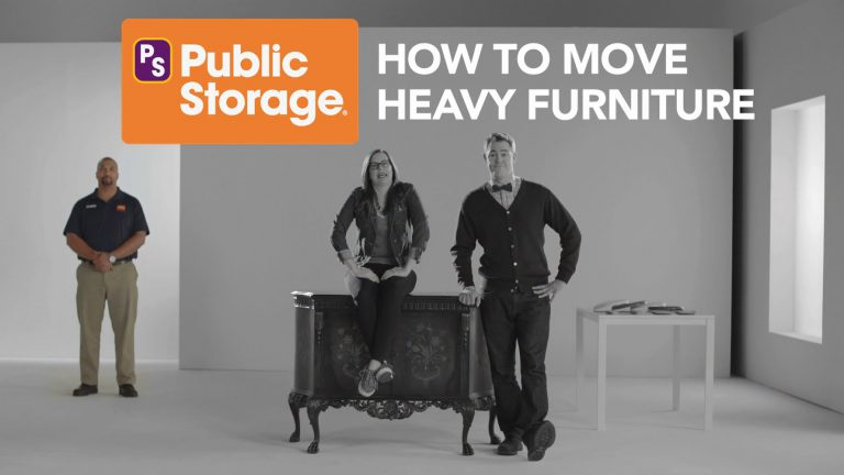 how to move heavy furniture like