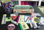sewing kit items such as scissors 145x100