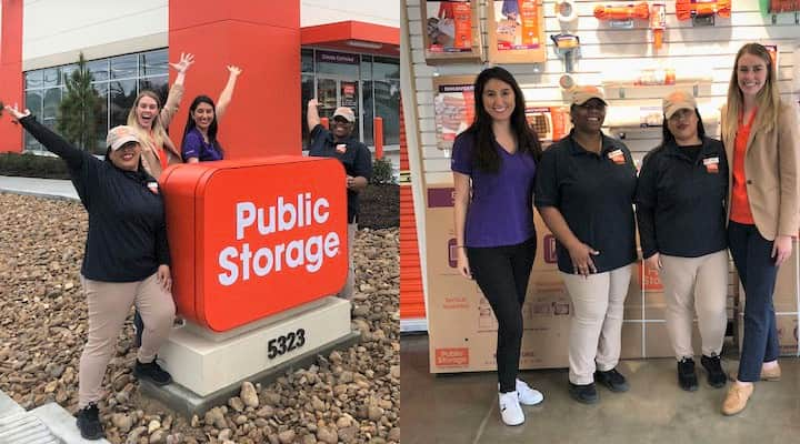 Houston area Public Storage managers celebrate new property openings