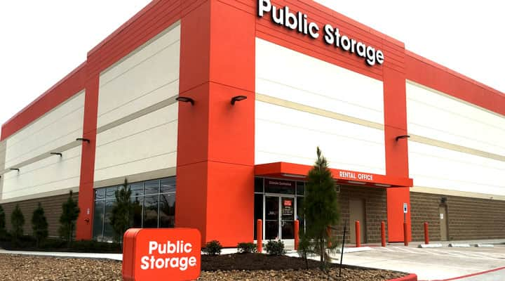 Redeveloped Houston area Public Storage property