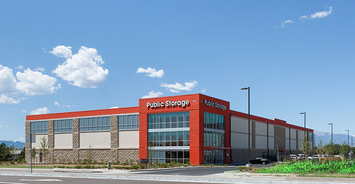 Exterior shot of Public Storage facility in Colorado.