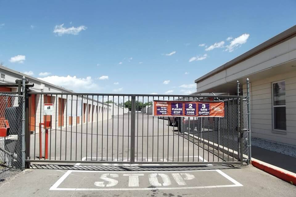 public storage 5240 edison ave colorado springs co 80915 security gate