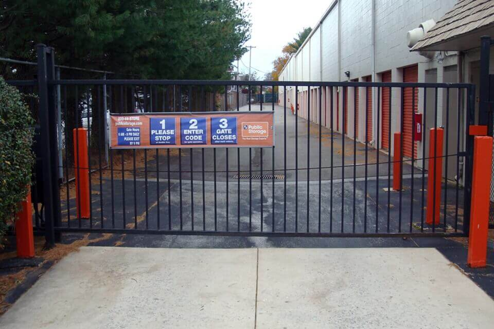 public storage 245 west chester pike havertown pa 19083 security gate