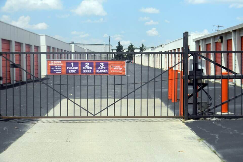 public storage 4021 marlane dr grove city oh 43123 security gate