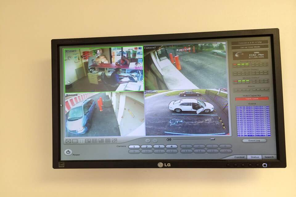 public storage 4305 lafayette road indianapolis in 46254 security monitor
