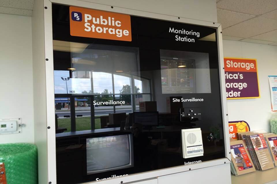 public storage 7430 madison ave indianapolis in 46227 security monitor