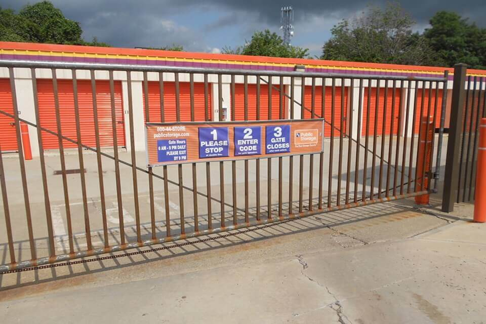 public storage 7866 tanners lane florence ky 41042 security gate