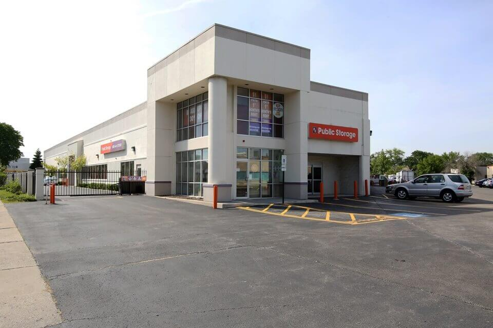 public storage 6460 n lincoln ave lincolnwood il 60712 exterior