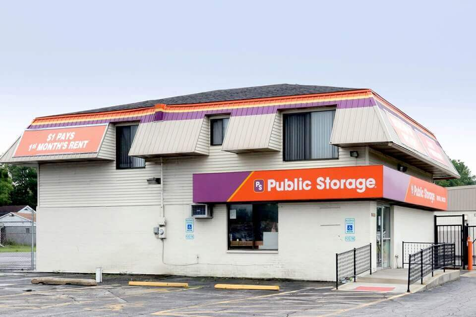 public storage 4001 w 37th ave hobart in 46342 exterior