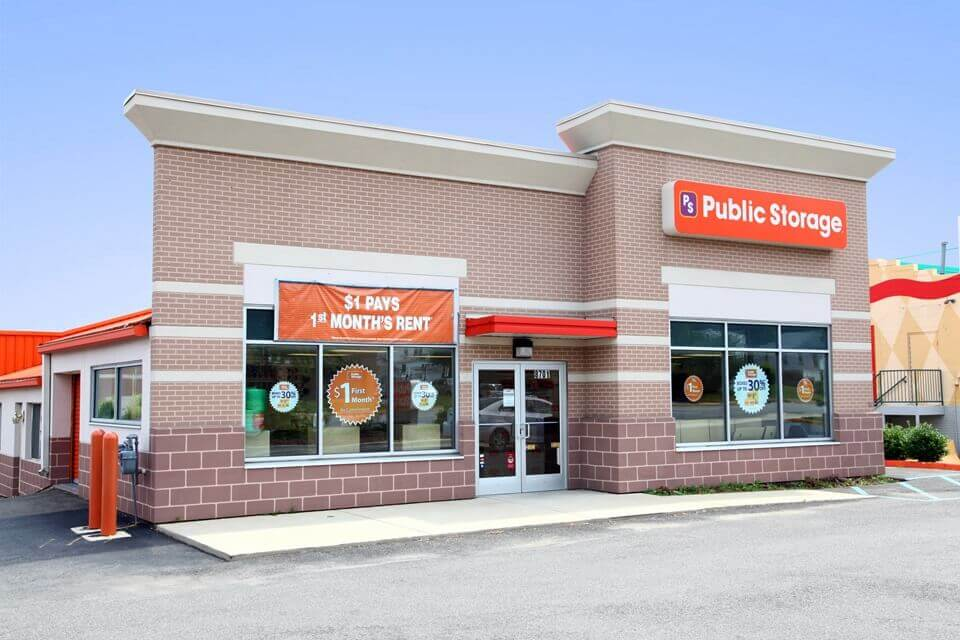 public storage 8701 central ave capitol heights md 20743 exterior