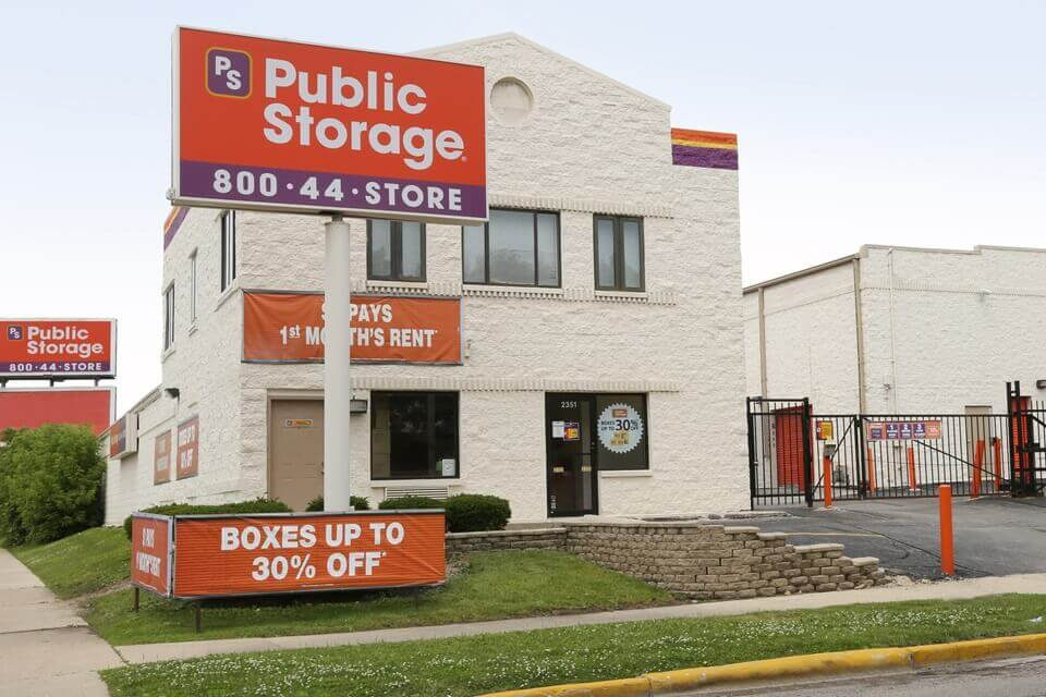 public storage 2351 n harlem ave chicago il 60707 exterior