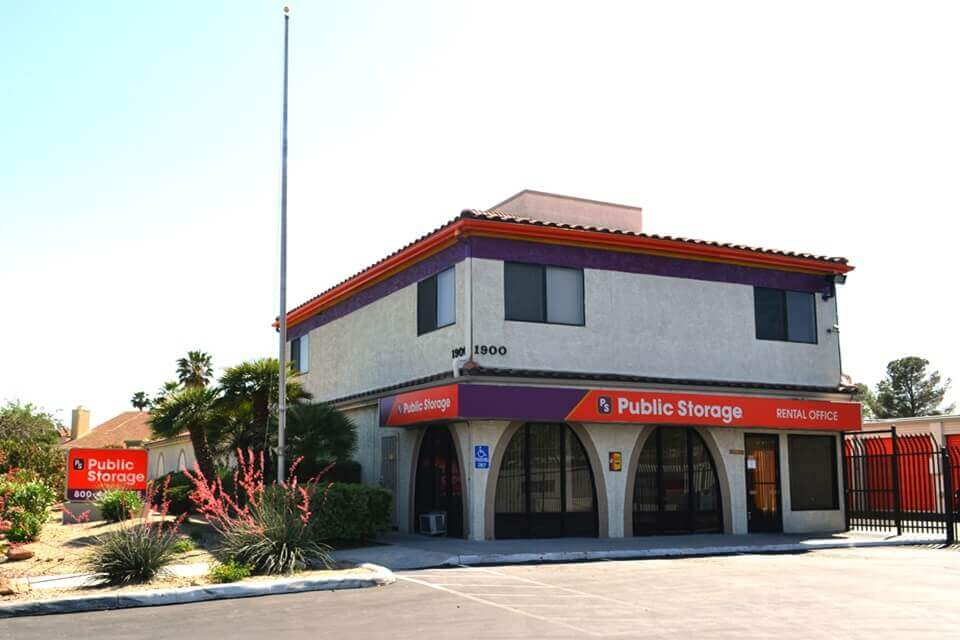 public storage 1900 n jones blvd las vegas nv 89108 exterior