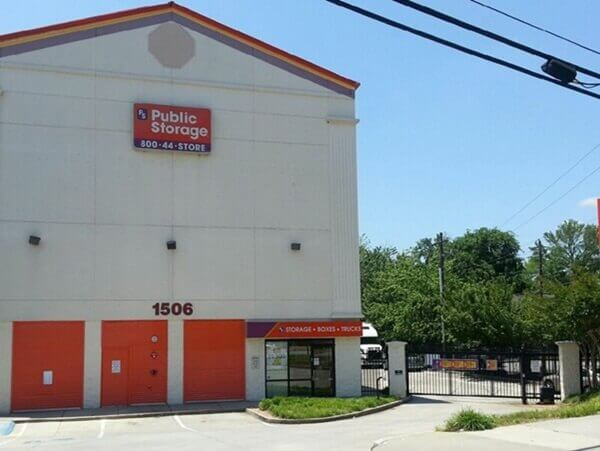 public storage 1506 howell mill road nw atlanta ga 30318 exterior