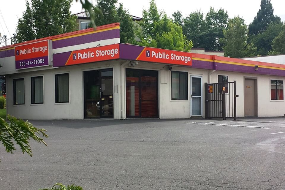 public storage 13473 sw pacific hwy tigard or 97223 exterior