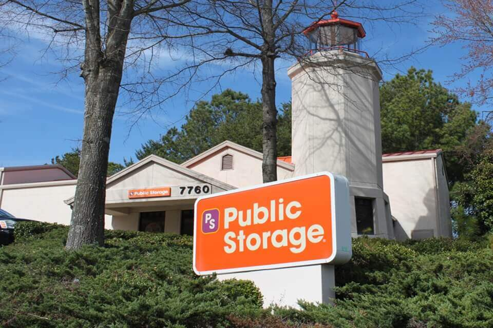 public storage 7760 roswell road sandy springs ga 30350 exterior