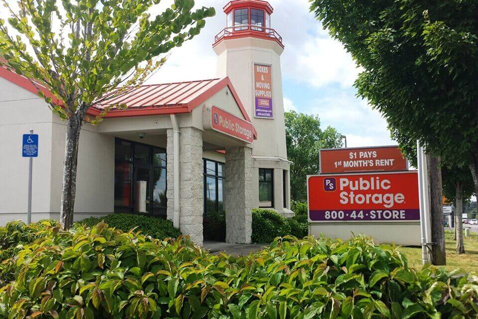 public storage 15700 sw pacific hwy tigard or 97224 exterior