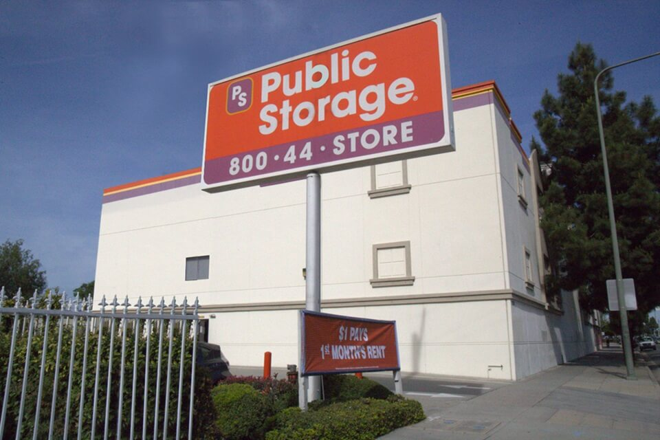 public storage 2703 martin luther king blvd los angeles ca 90008 exterior