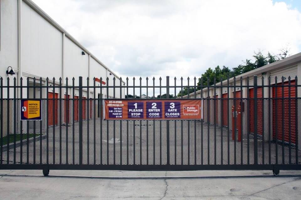 public storage 2783 n john young parkway kissimmee fl 34741 security gate