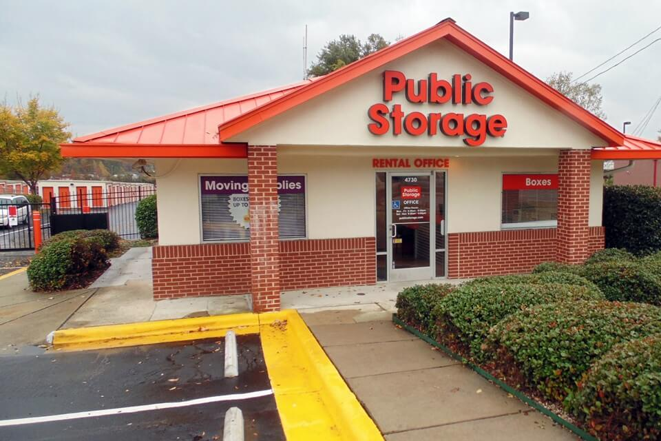 public storage 4730 n tryon st charlotte nc 28213 exterior