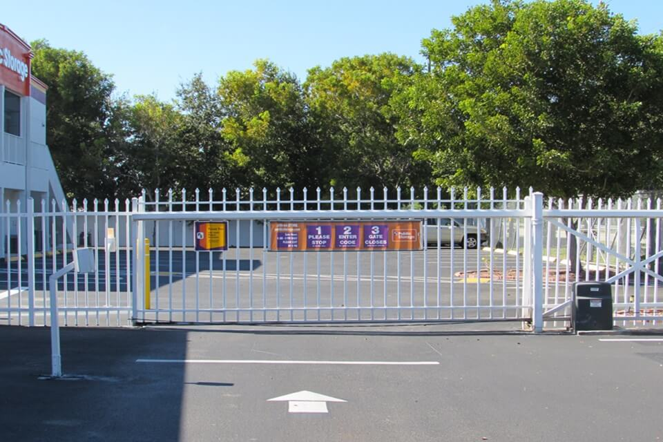 public storage 11181 kelly rd fort myers fl 33908 security gate