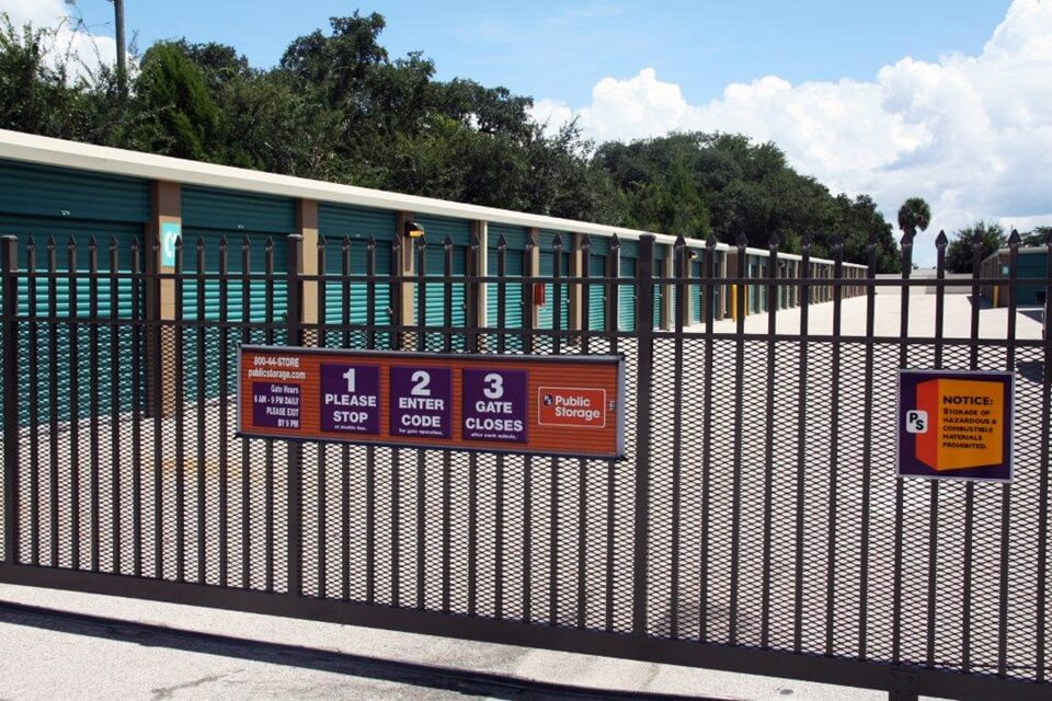 public storage 951 s john young pkwy kissimmee fl 34741 security gate