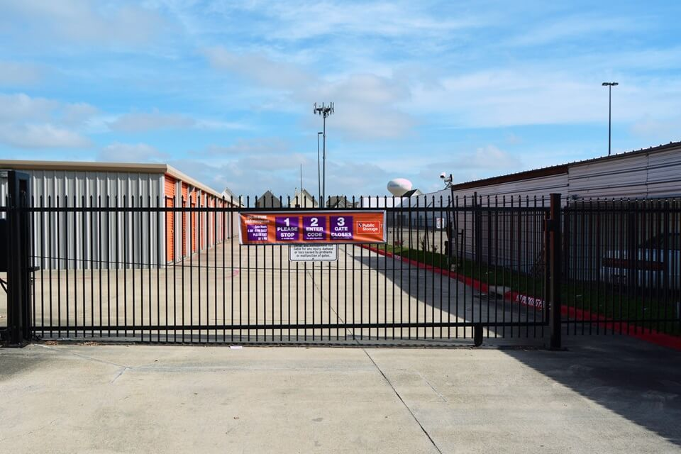 public storage 7255 highway 6 south houston tx 77083 security gate