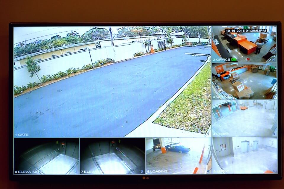 public storage 8477 sw 40th street miami fl 33155 security monitor