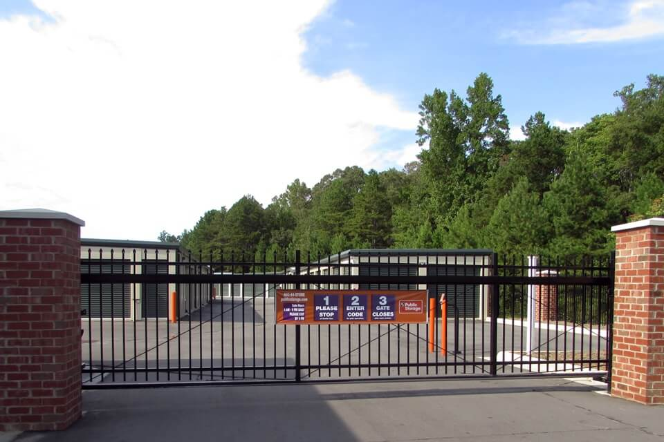 public storage 292 fort mill hwy indian land sc 29707 security gate