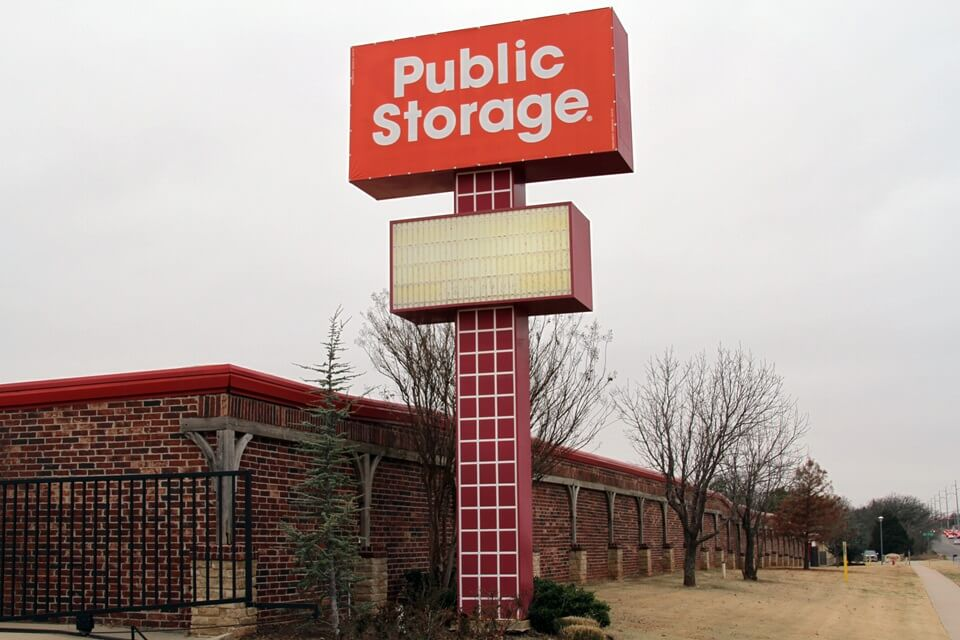 public storage 640 nw 164th st edmond ok 73013 exterior