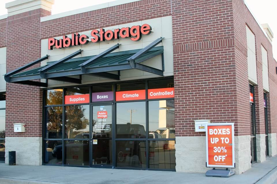 public storage 7825 s walker ave oklahoma city ok 73139 exterior
