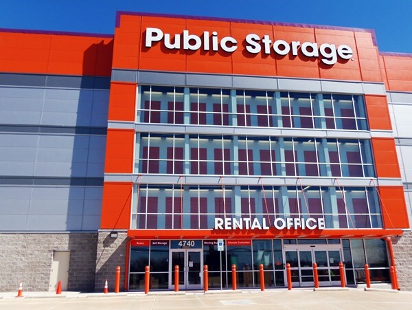 public storage 4740 harry hines blvd dallas tx 75235 exterior