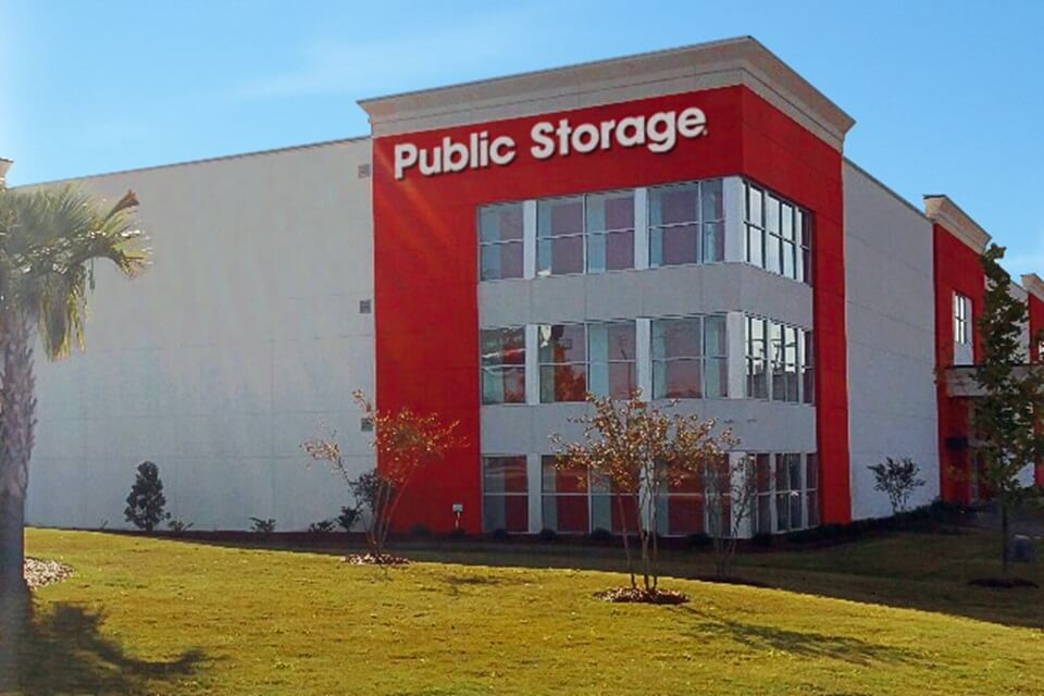 public storage 7011 garners ferry rd columbia sc 29209 exterior